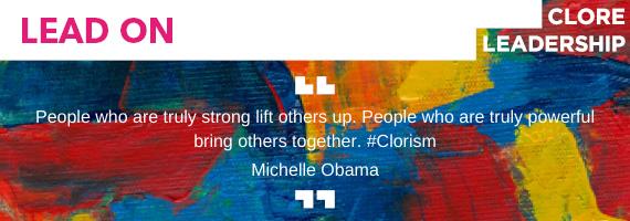 Lead On: Clore Leadership